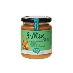 Crema de anacardos, avellanas y almendras Mix 3, ecológica - TerraSana