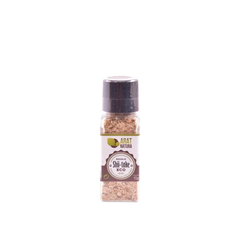 Seta shiitake deshidratada ecológica, molida - Arat Natura