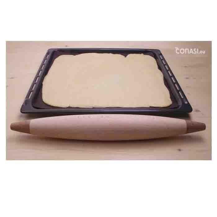 Rodillo de cocina para amasar de madera ecol gica for Rodillo cocina