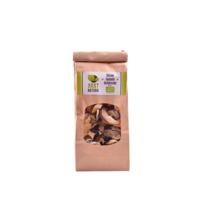 Seta shiitake deshidratada ecológica, trozos - Arat Natura