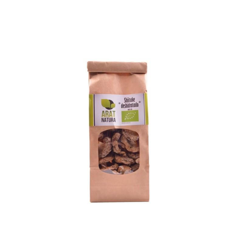 Seta shiitake deshidratada ecológica, entera - Arat Natura