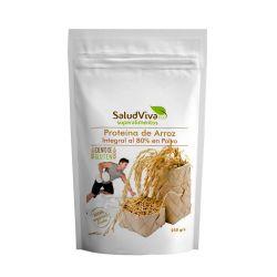 Proteína de arroz ecológica - 80% proteína