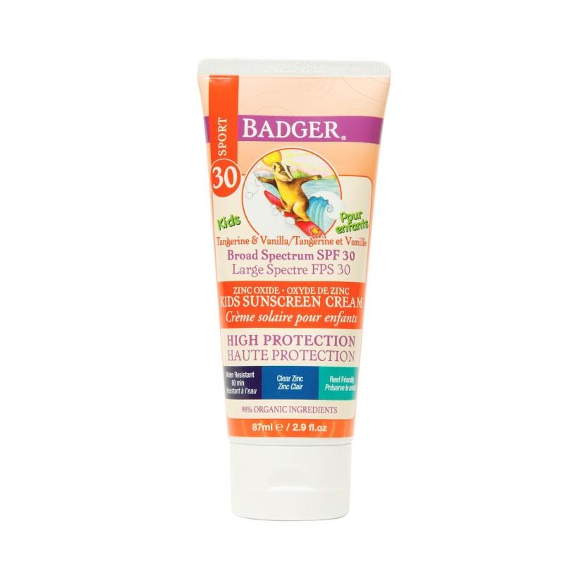 Protector solar bio FPS30 para niños - Badger