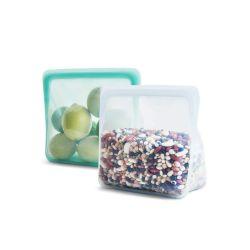 Bolsa porta alimentos de silicona platino Stand Up - Stasher