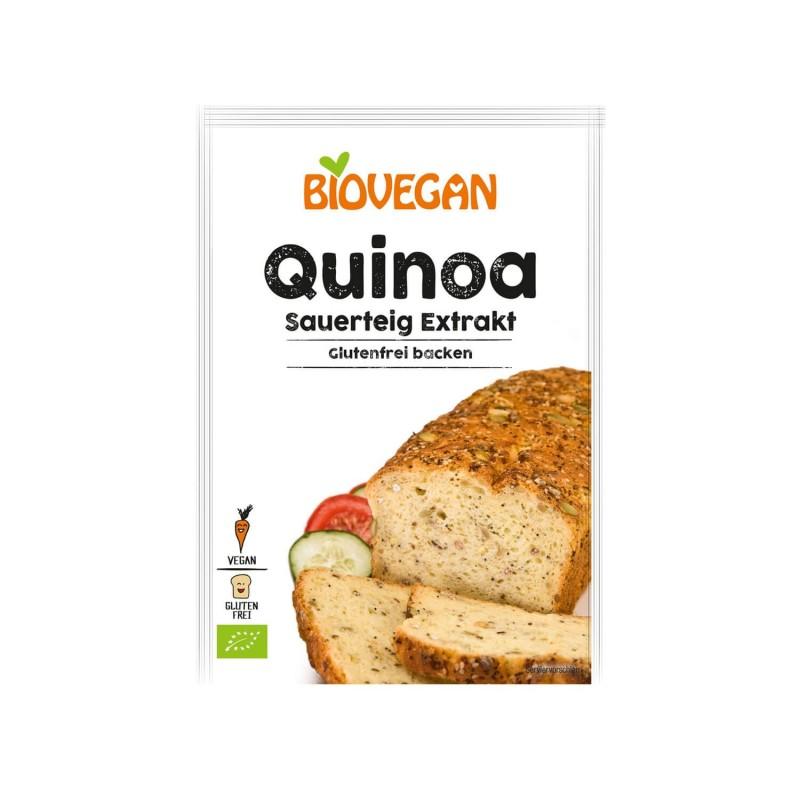 Masa madre ecológica de quinoa