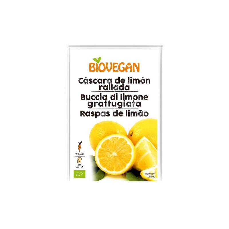 Ralladura de limón ecológica - Biovegan