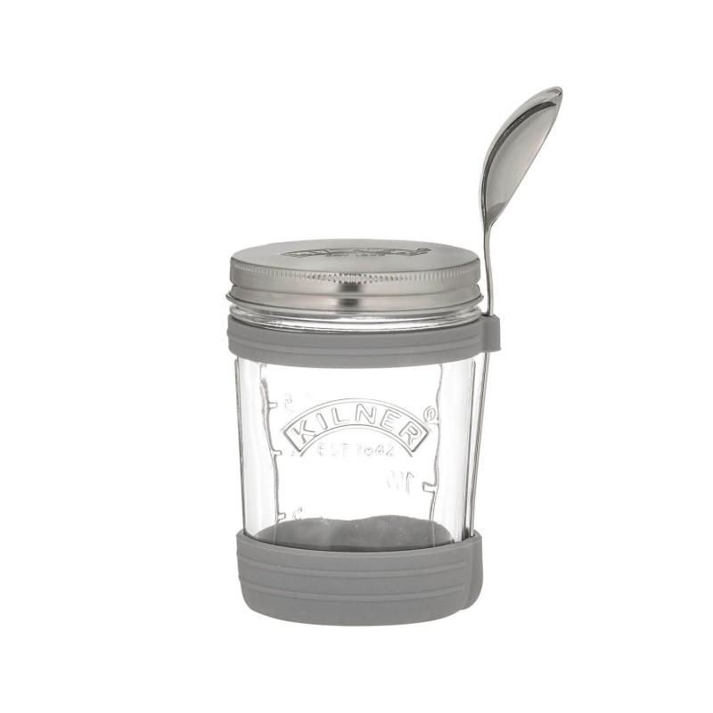 Tarro de cristal 350 ml con cuchara - Kilner