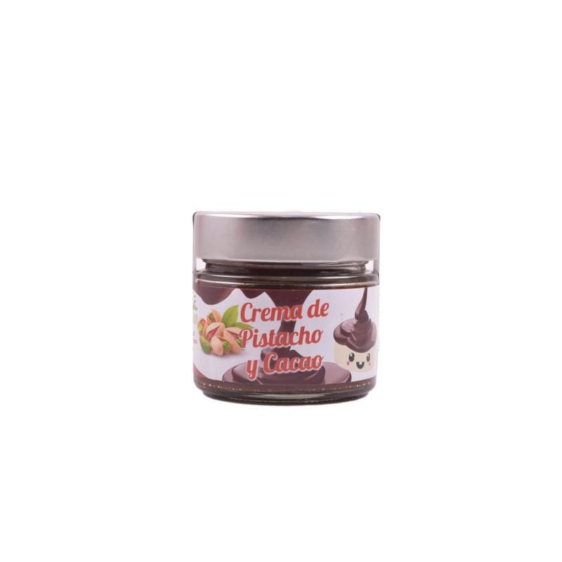 Crema de pistachos y cacao ecológica