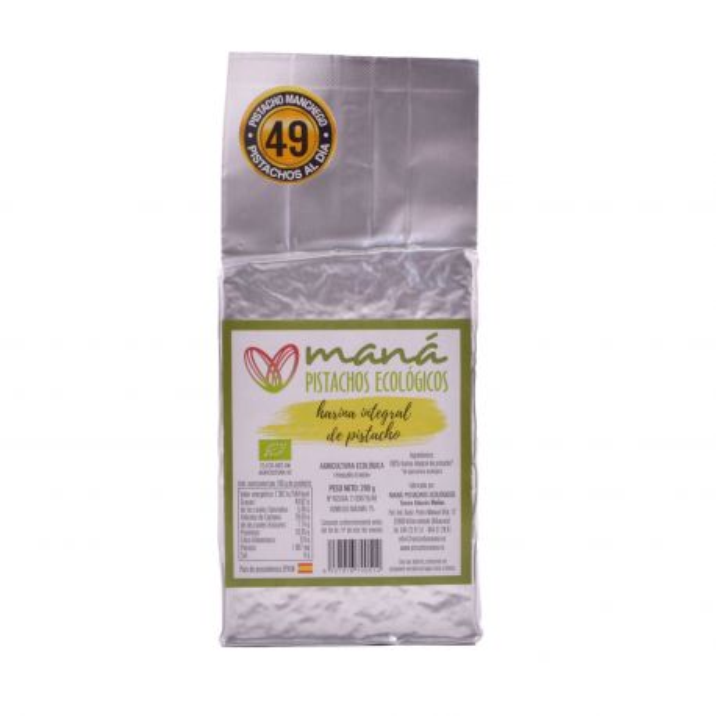 Harina de pistacho integral ecológica