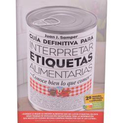 "Libro ""Guía definitiva para interpretar etiquetas alimentarias"", Samper - Outlet"