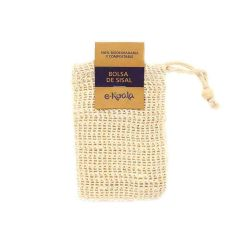Saquito de sisal para jabones - Ekoala