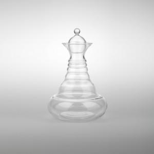 Jarra Alladin de cristal borosilicato, sin toxicidad