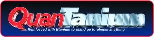 Logotipo del antiadherente de titanio registrado como Quantanium por Withford