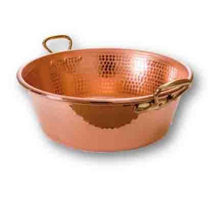 Cazuela de cobre, utilizar como decorativa