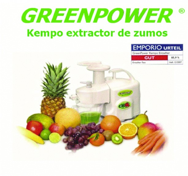 Extractor de zumos Greenpower Kempo Exclusive pro