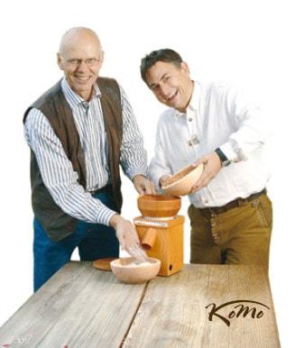 Los creadores de Komo: Wolfgang Mock y Peter Koild