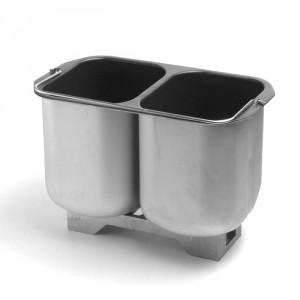 Molde de dos cavidades, sin teflon, de quantanium, de la panificadora Unold Extra