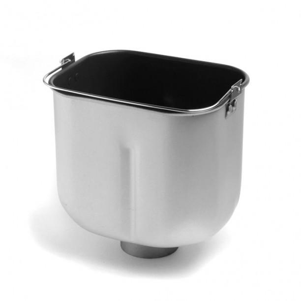 Molde con antiadherente de titanio, llamado Quantanium, de la panificadora Unold