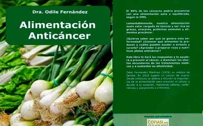 Libro Alimentación anticáncer - Dra Odile Fernández