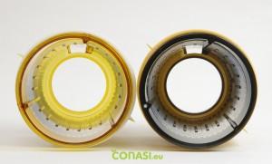 Los dos filtros, comparación Versapers y Hurom 400