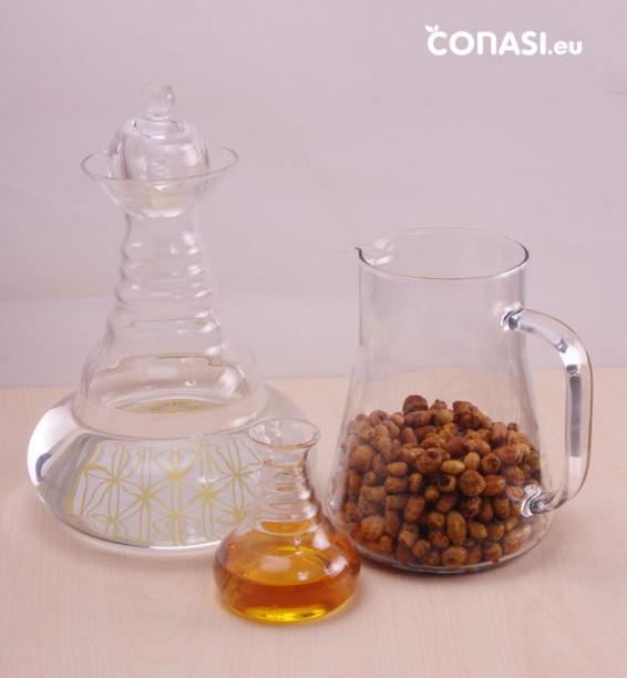 Ingredientes que hemos utilizado: chufas, agua y ágave