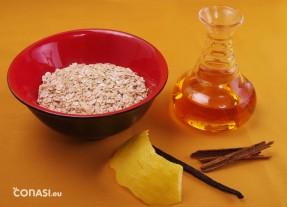 Ingredientes para la leche rizada