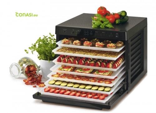 Deshidratador Sedona, con frutas y verduras