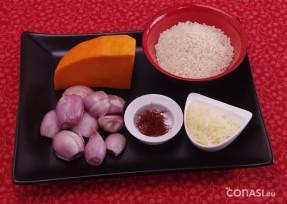 Ingredientes del risotto