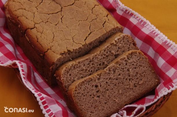Pan sin gluten de 4 harinas