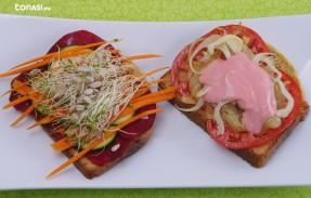 Sándwich vegano