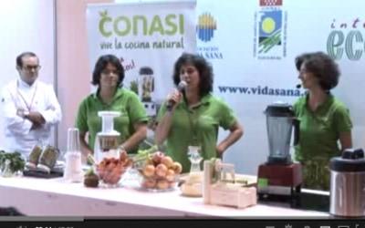 "Showcooking ""Menú anticáncer"", Dra Odile Fernández"