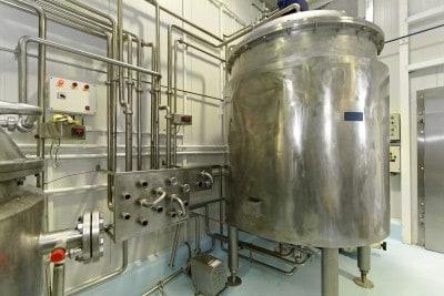 Tanque pasteurizacion de leche
