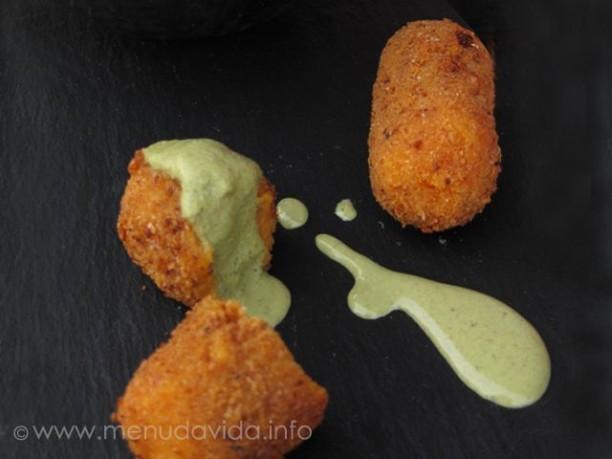 Croquetas de boniato y tofu