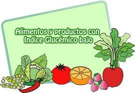 Resultado de imagen para alimentos indice glucémico bajo