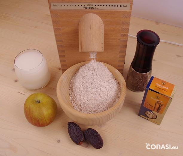 Ingredientes de la crema budwig