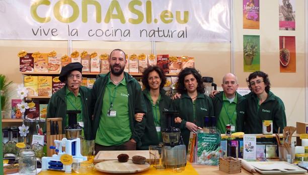 Equipo Conasi Biocultura Barcelona 2013