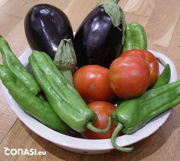 Solanáceas: tomate, berenjena, patata y pimiento