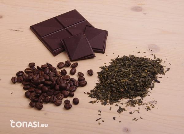 Te, café y chocolate contienen xantinas