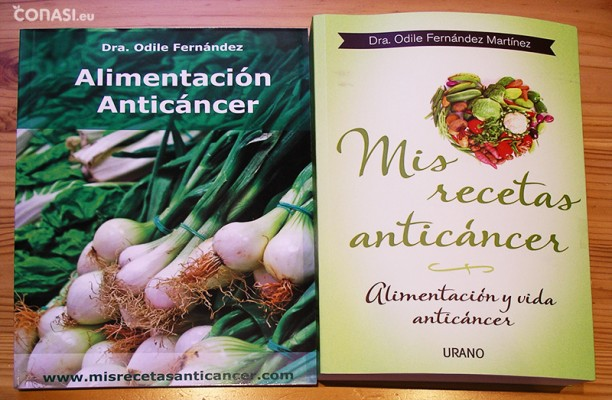 """""""Mis recetas y alimentación anticáncer"""""""
