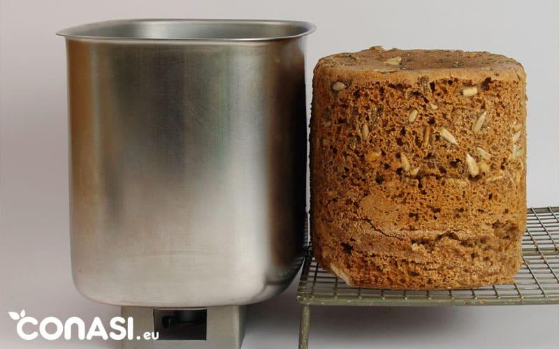pan en panificadora