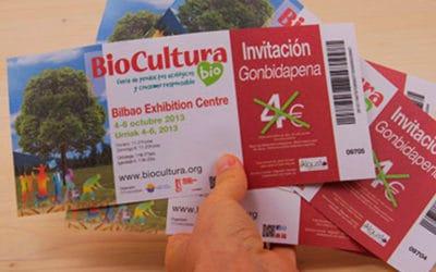 Biocultura Bilbao 2013 - Sorteo de entradas