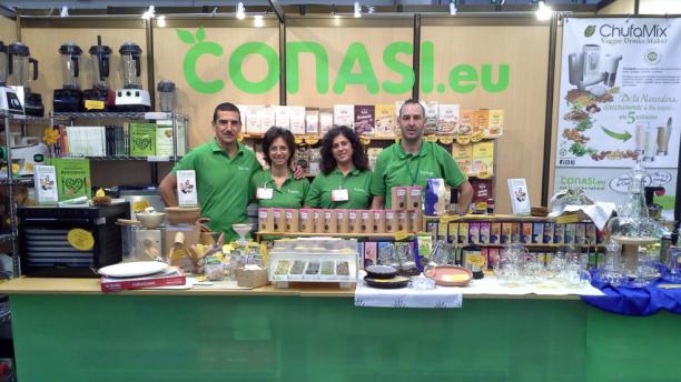 Equipo Conasi en Biocultura Bilbao 2013