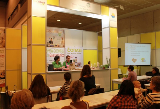 Showcooking Biocultura Madrid 2013