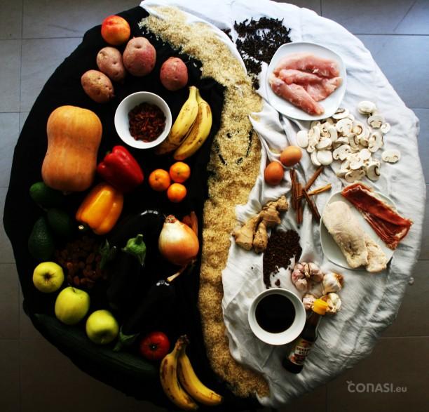 Dieta del yin yang