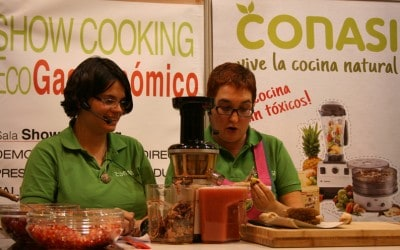 Showcooking Biocultura Madrid