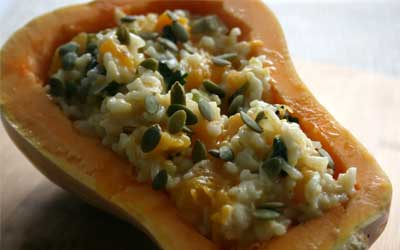 risotto-de-calabaza
