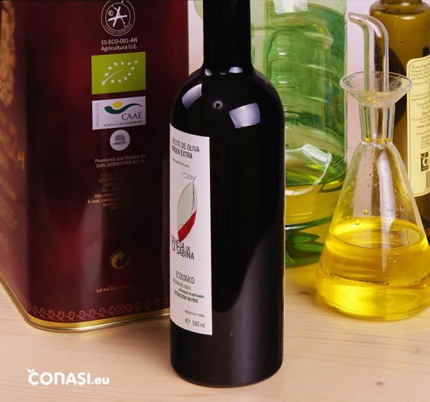 Aceites de oliva, distintas calidades y envases