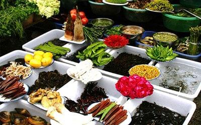 Mercado en Dali