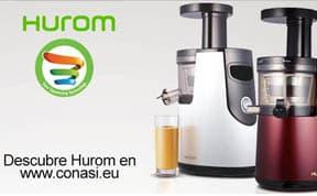 Hurom, extractores lentos de zumo
