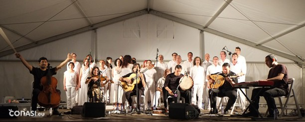 Impresionante concierto Burruezo y compañçia